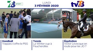7/8 Sports. Emission du lundi 3 février 2020