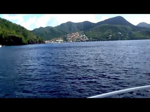 Sur le bateaux de corail club
