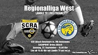 LIVE: SCR Altach Amateure vs VfB Hohenems