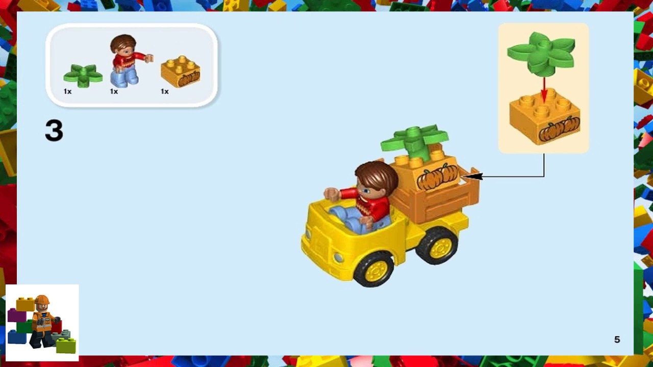 Lego Instructions Duplo Trains 10810 Push Train Youtube