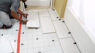 "How To Install QuicTile ""EASY DIY Porcelain Tiles""   DIY CREATORS"
