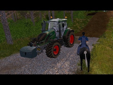 Farming Simulator 17 - Forestry and Farming on The Valley The Old Farm 078 thumbnail