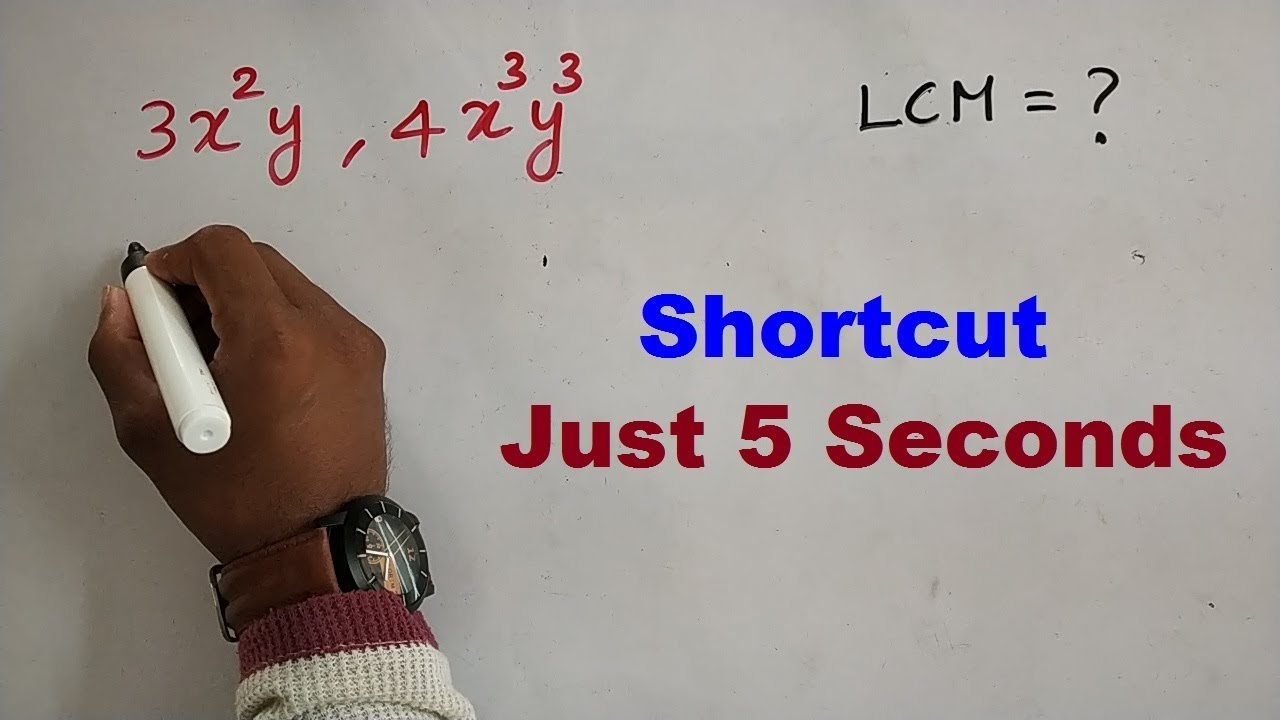 LCM SHORTCUT IN TAMIL | APTITUDE AND REASONING IN TAMIL | TNPSC, SSC, IBPS,  RRB