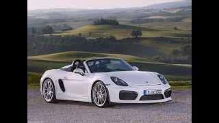 Тест драйв нового Porsche Boxster Spyder - Новинки авто 2015 - 2016