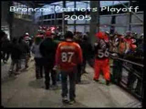 #NEvsDEN 2005 Playoff Victory Celebration - Broncos 27 Patsies 13