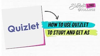 How to use quizlet to study and get As