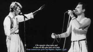 [Vietsub + Lyrics] Queen & David Bowie - Under Pressure