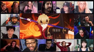 """2.2 Genshin Impact """"Into the Perilous Labyrinth of Fog"""" Trailer - Reaction Mashup"""