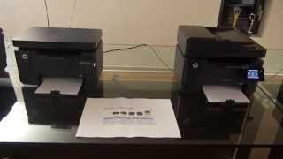 Смотреть видео МФУ HP Laserjet pro m127fn