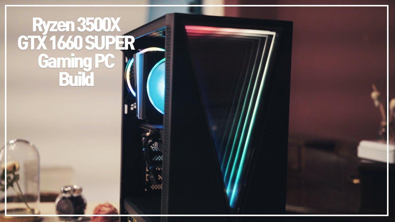 (재업)Ryzen5 3500X GTX 1660SUPER 게이밍 컴퓨터 조립! (+Gaming Benchmark)