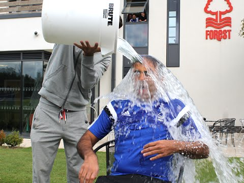 Fawaz Al Hasawi takes the Ice Bucket Challenge