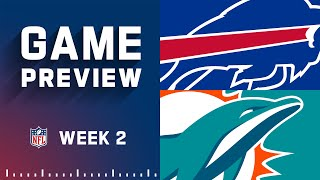 Buffalo Bills vs. Miami Dolphins   Week 2 NFL Game Preview
