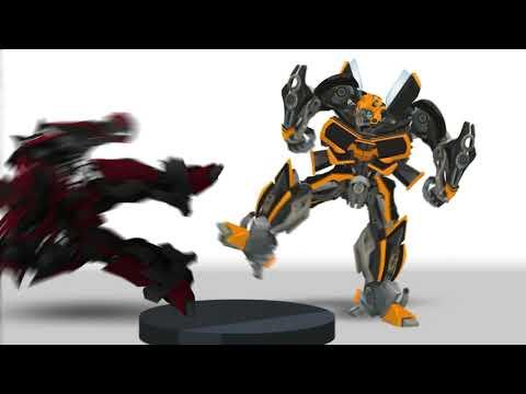 BUMBLEBEE (1967 camaro) Short Flash Transformers Series