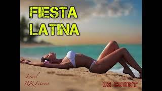 """FIESTA LATINA"" Step-Aerobic/Jump/Running Music Mix #17 134-136 bpm 32Count 2017 Israel RR Fitness"