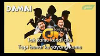 CJR-   Damai  - Video Lirik