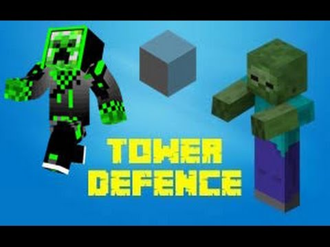 Tower Defence - Cubecraft