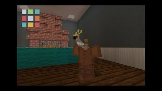 How to perch a parrot in minecraft!