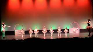 Stacy's First Performance - Christmas Ballet Show for CF Dance -