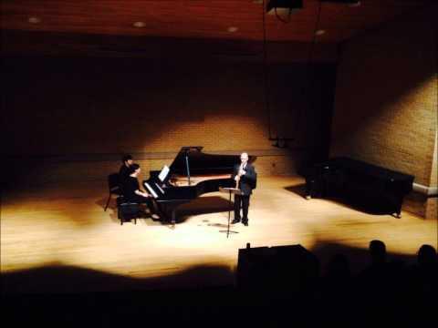 Sonata for Soprano Saxophone and Piano by Jindřich Feld I. Molto Moderato