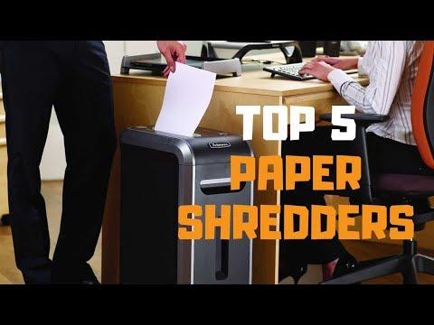 Best Paper Shredder In 2019 - Top 5 Paper Shredders Review