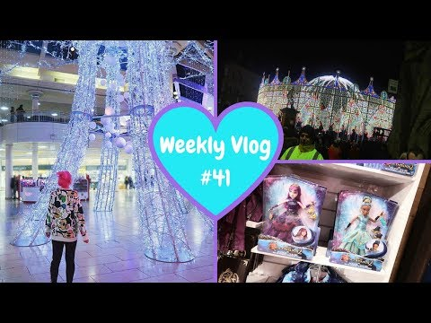 Weekly Vlog #41 | 2x Disney Stores Shopping & Durham Lumiere