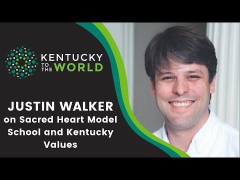 Justin Walker on Sacred Heart Model School and Kentucky Values