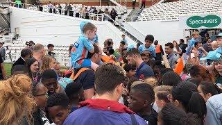 England's cricket heroes inspire new generation