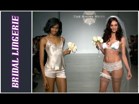 The Giving Bride - Lingerie Fashion Week NY SS15 - 2 min preview. http://bit.ly/2kYTpur