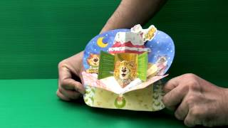Amazing 3D Pop Up Cards - Christmas  (Illustrated by Lino E. X. G.)