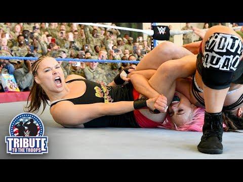 Rousey & Natalya vs. Jax & Tamina vs. Morgan & Logan: WWE Tribute to the Troops, Dec. 20, 2018
