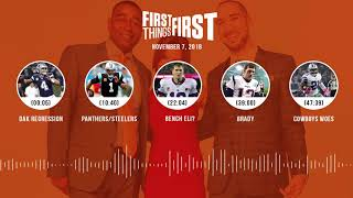 First Things First audio podcast(11.7.18) Cris Carter, Nick Wright, Jenna Wolfe | FIRST THINGS FIRST