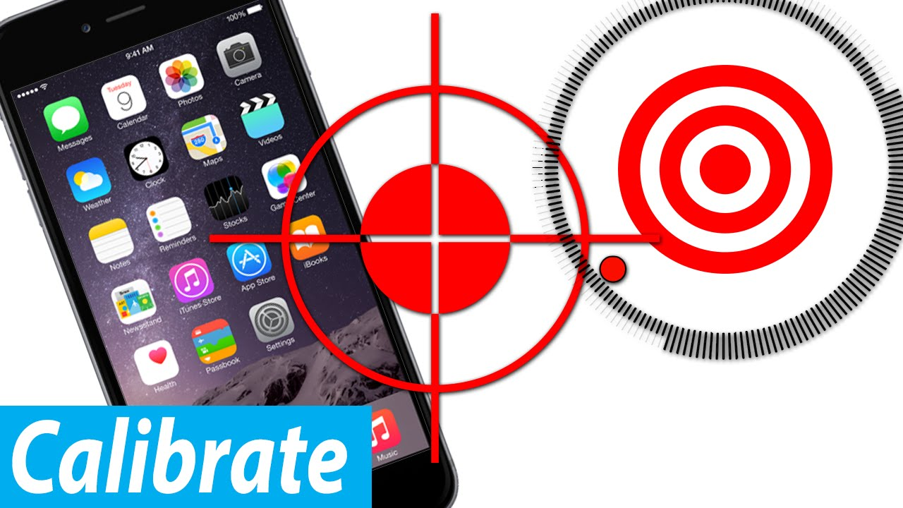 How To Calibrate iPhone Motion Sensor (Simple) - YouTube