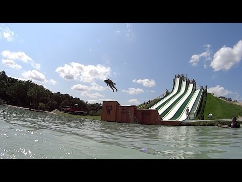 Scary Royal Flush Water Slide at BSR Cable Park