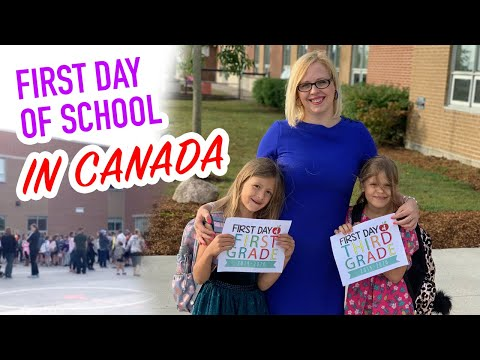 First Day Of School In Canada