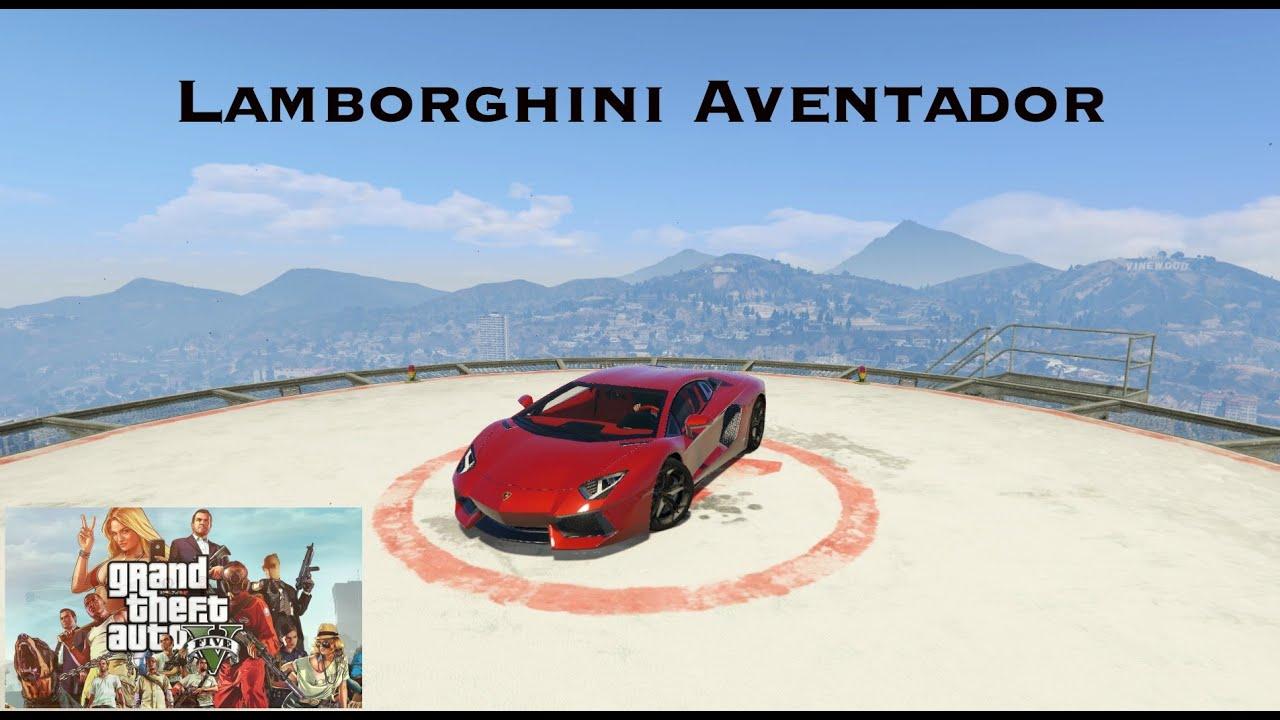 How To Install Lamborghini Aventador Gta 5 Mods Youtube