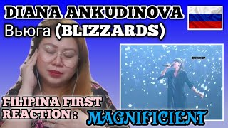 DIANA ANKUDINOVA -Вьюга BLIZZARDS (MV) Диана Анкудинова || FILIPINA Reacts