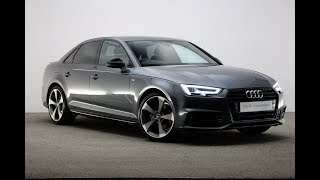 Rf17hxv Audi A4 Saloon Special Editions Tdi S-Line Black Edition, Reading Audi
