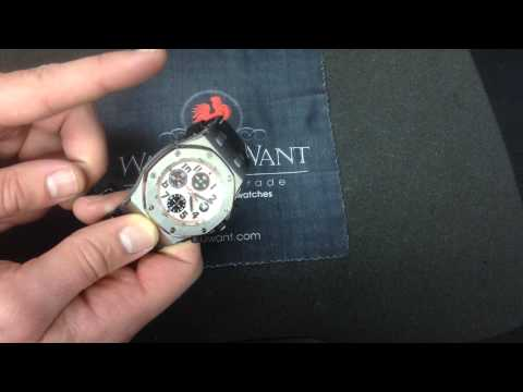"Audemars Piguet Royal Oak Offshore Chronograph ""Panda"" Luxury Watch Review"