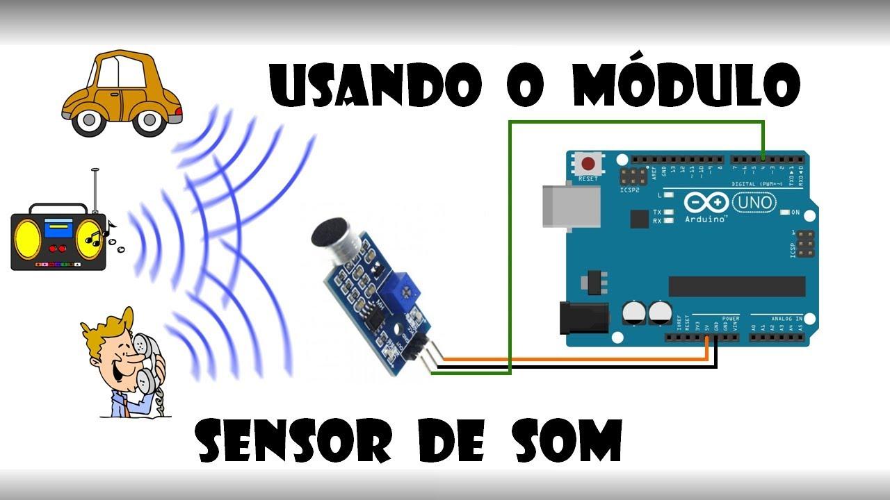 Arduino Using The Sound Sensor Module