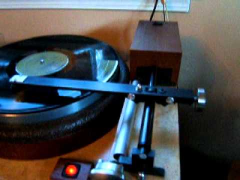 DIY linear tracking turntable and tonearm