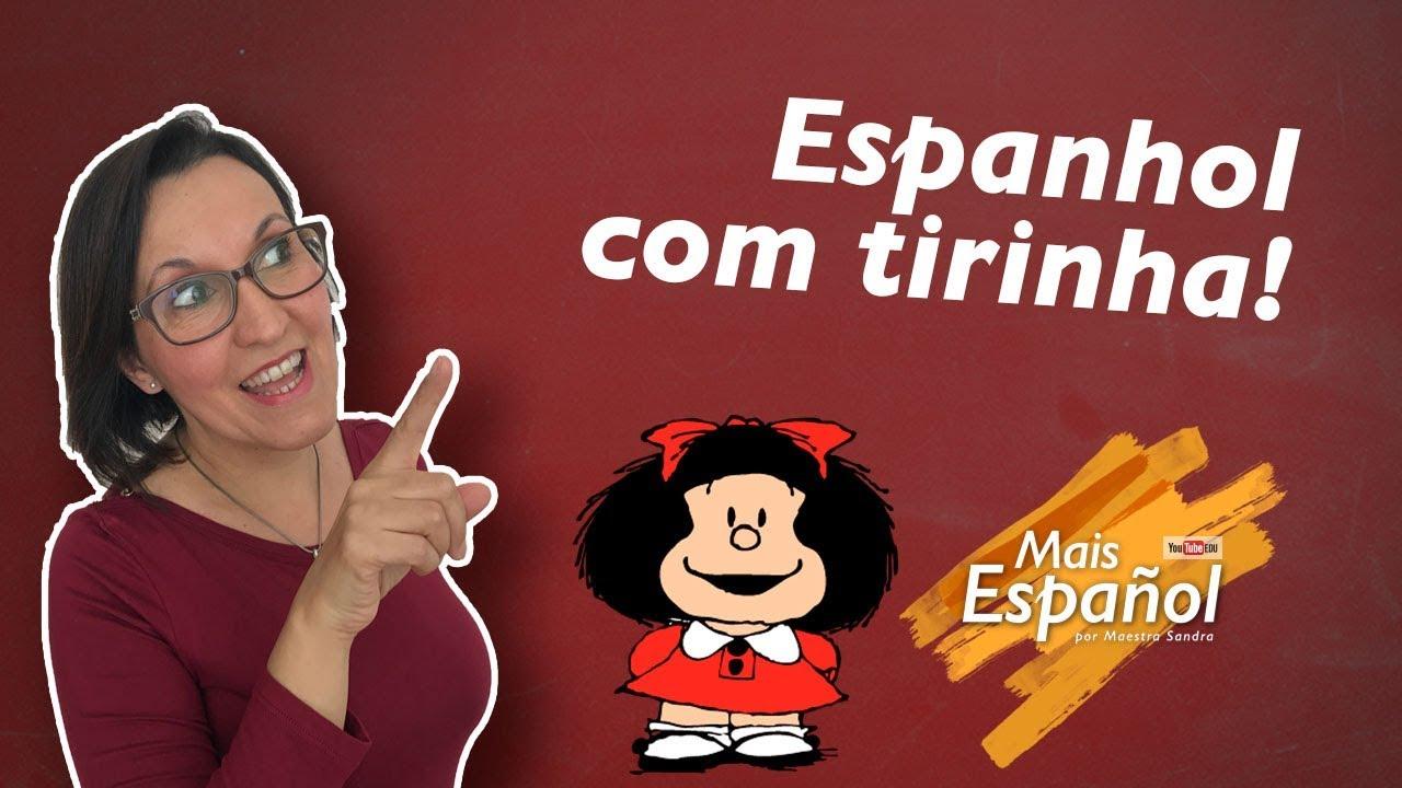 Espanhol Com Tirinhas