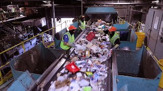 Virtual Recycling Plant Tour