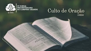 Culto de oração 28/09/2021