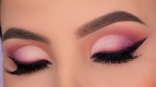 Summer Inspired Cut Crease | Quarantine Glam Makeup