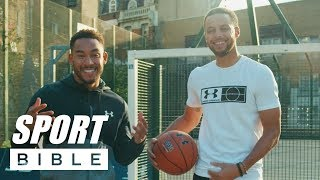 Steph Curry Teaches Josh Denzel How To Play Basketball | Shooting Tutorial | Average Joe To Pro