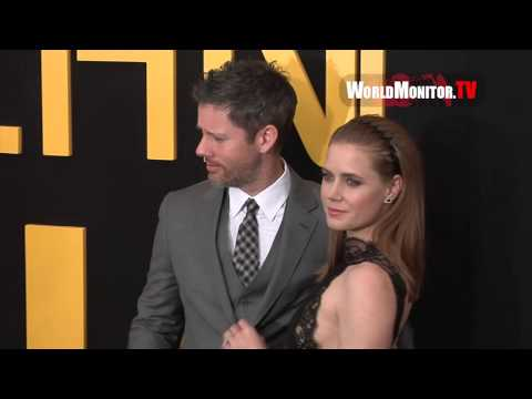 Amy Adams, Darren Le Gallo arrive at 'American Hustle' New York premiere screening