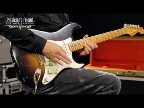 Fender Custom Shop 1955 Stratocaster Relic Ash Electric Guitar Masterbuilt by John Cruz