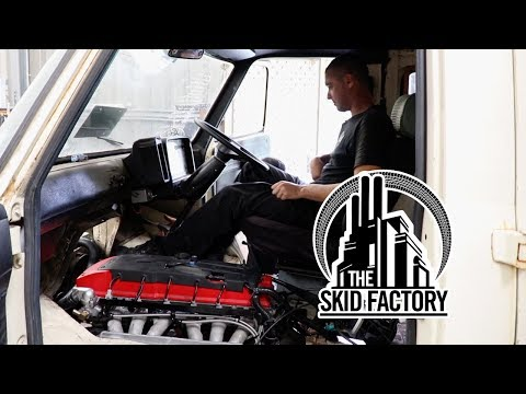 THE SKID FACTORY - Barra Powered Bedford Van [EP13]