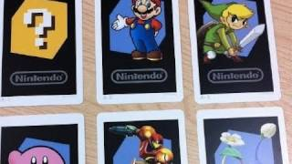 Nintendo 3DS Unboxing, 6 Different AR Cards and Nintendo 3DS eShop Screenshots