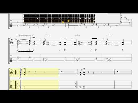 Black Sabbath   War Pigs GUITAR 1 TABLATURE